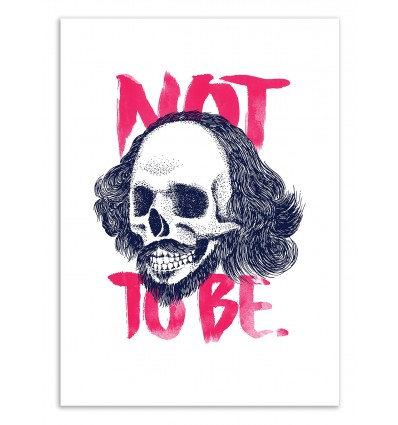 Art-Poster 50 x 70 cm - Not to be - Robert Farkas
