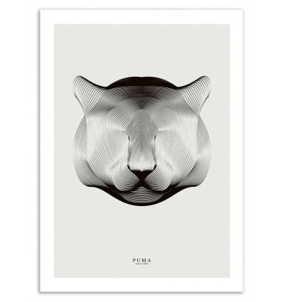 Art-Poster 50 x 70 cm - Puma - Andrea Minini