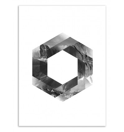 Art-Poster 50 x 70 cm - Hex - Chris Wharton