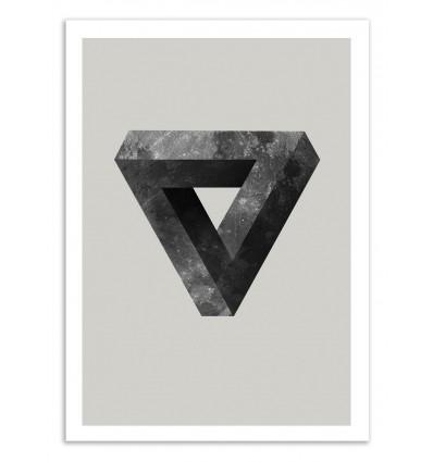 Art-Poster 50 x 70 cm - Lunar - Chris Wharton