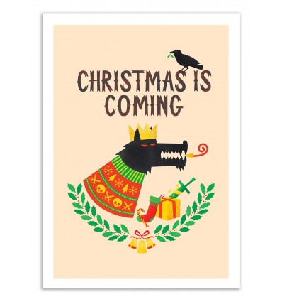 Art-Poster 50 x 70 cm - GOT Xmas - Chris Wharton
