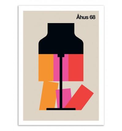 Art-Poster 50 x 70 cm - Ahus 68 - Bo Lundberg