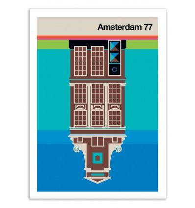 Art-Poster 50 x 70 cm - Amsterdam 77 - Bo Lundberg