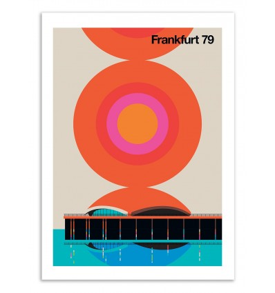 Art-Poster 50 x 70 cm - Frankfurt 79 - Bo Lundberg
