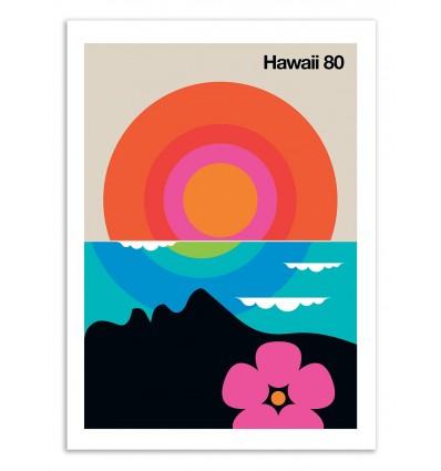 Art-Poster 50 x 70 cm - Hawaii 80 - Bo Lundberg