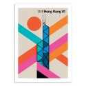 Art-Poster - Hong-Kong 81 - Bo Lundberg