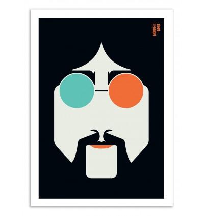 Art-Poster 50 x 70 cm - Lennon - Bo Lundberg