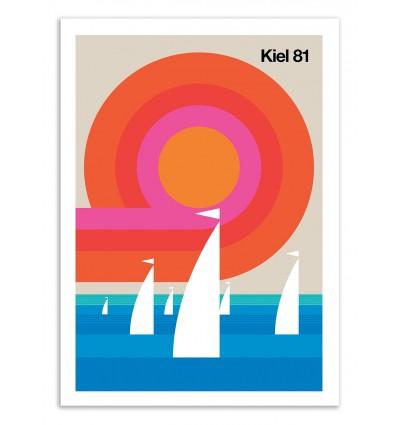 Art-Poster 50 x 70 cm - Kiel 81 - Bo Lundberg