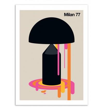 Art-Poster 50 x 70 cm - Milan 77 - Bo Lundberg