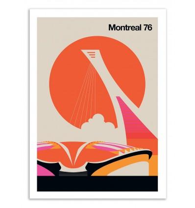Art-Poster 50 x 70 cm - Montreal 76 - Bo Lundberg
