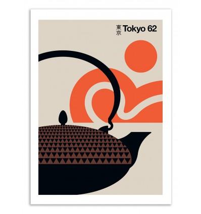 Art-Poster 50 x 70 cm - Tokyo 62 - Bo Lundberg