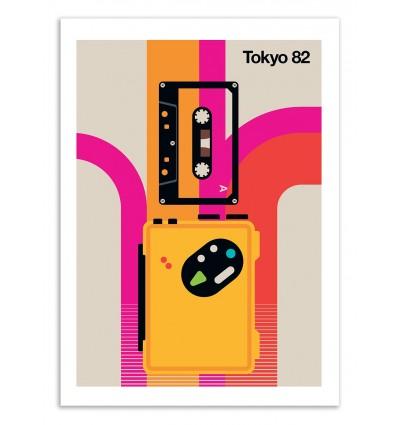 Art-Poster 50 x 70 cm - Tokyo 82 - Bo Lundberg