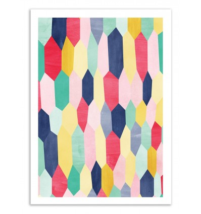 Art-Poster 50 x 70 cm - Astral - Tracie Andrews