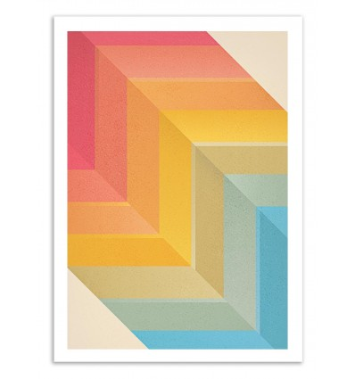 Art-Poster 50 x 70 cm - Back and Forth - Tracie Andrews