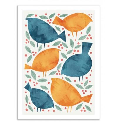 Art-Poster 50 x 70 cm - Birds - Tracie Andrews