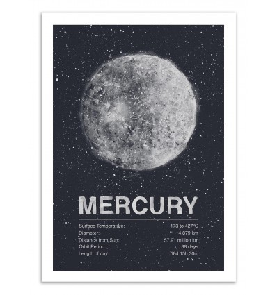 Art-Poster 50 x 70 cm - Mercury - Tracie Andrews