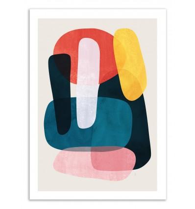 Art-Poster 50 x 70 cm - Mishka - Tracie Andrews