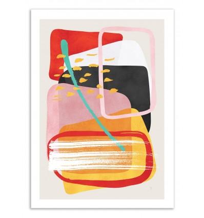 Art-Poster 50 x 70 cm - Mojo - Tracie Andrews