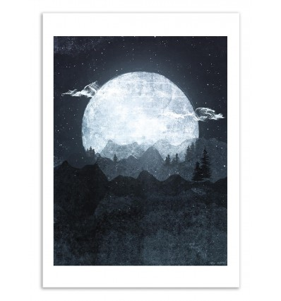 Art-Poster 50 x 70 cm - Moonrise - Tracie Andrews