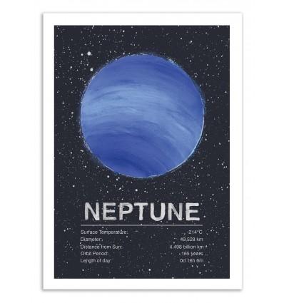 Art-Poster 50 x 70 cm - Neptune - Tracie Andrews