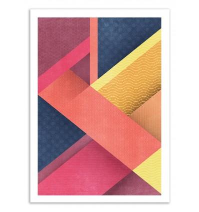 Art-Poster 50 x 70 cm - Overlap - Tracie Andrews