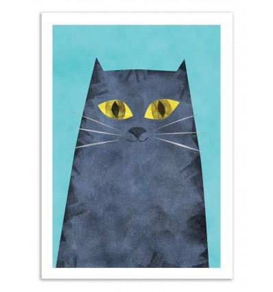 Art-Poster 50 x 70 cm - Tabby Cat - Tracie Andrews