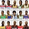 Art-Poster 70 x 100 cm - Legendary Basketball Players - Olivier Bourdereau