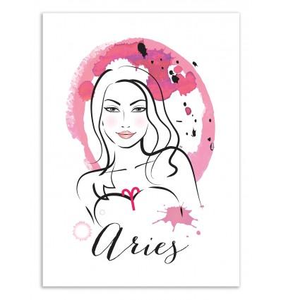 Art-Poster 50 x 70 cm - Aries - Martina Pavlova