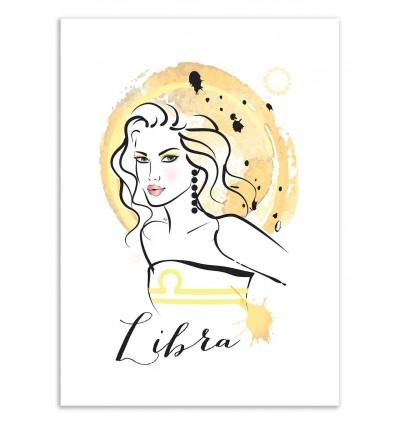Art-Poster 50 x 70 cm - Libra - Martina Pavlova