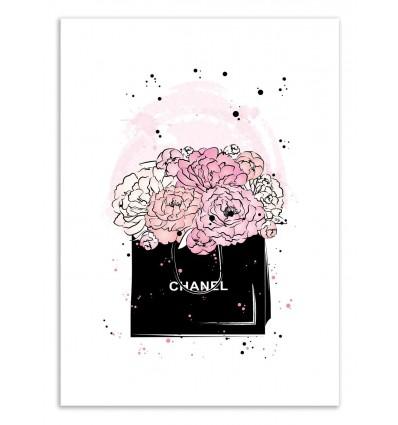 Art-Poster 50 x 70 cm - Chanel - Martina Pavlova