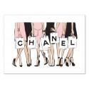 Art-Poster - Chanel women - Martina Pavlova