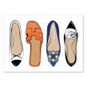 Art-Poster 50 x 70 cm - Shoes series - Martina Pavlova