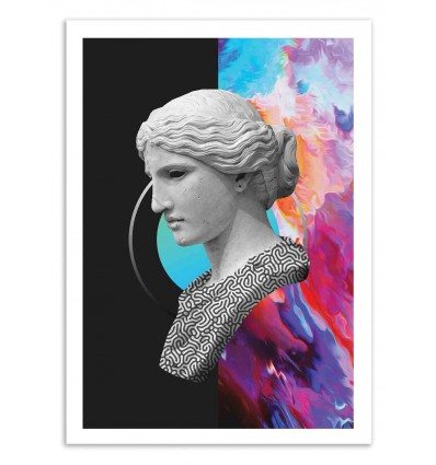 Art-Poster 50 x 70 cm - Gerg - Dorian Legret