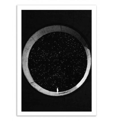 Art-Poster 50 x 70 cm - Sigi - Dorian Legret
