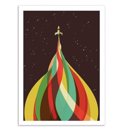 Art-Poster 50 x 70 cm - Kaleidoscope - Jay Fleck