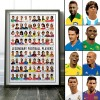 Art-Poster 70 x 100 cm - Legendary Football Players - Olivier Bourdereau