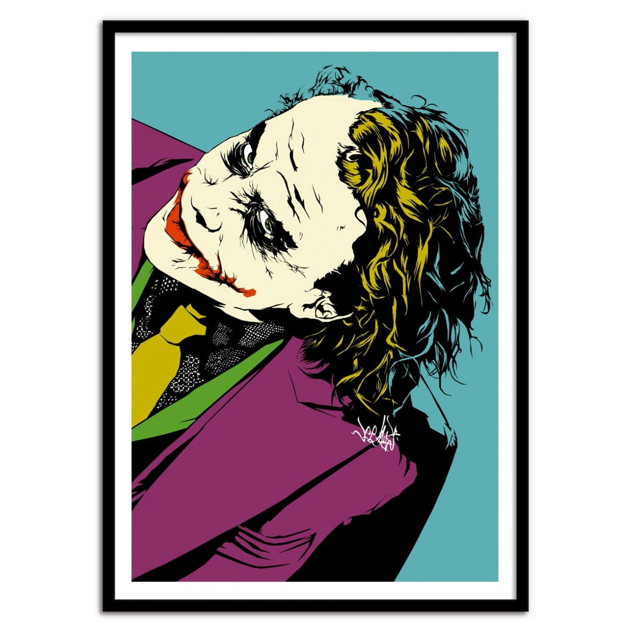 Why so serious movie poster