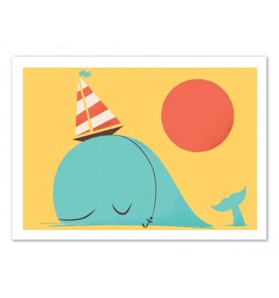 Art-Poster 50 x 70 cm - Party Hat - Jay Fleck