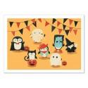Art-Poster - Penguin Halloween - Jay Fleck