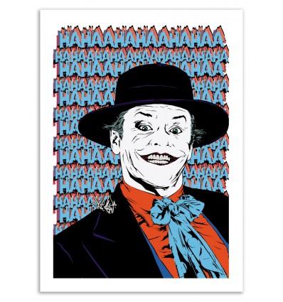 Art-Poster - You can call me... Joker ! - Vee Ladwa