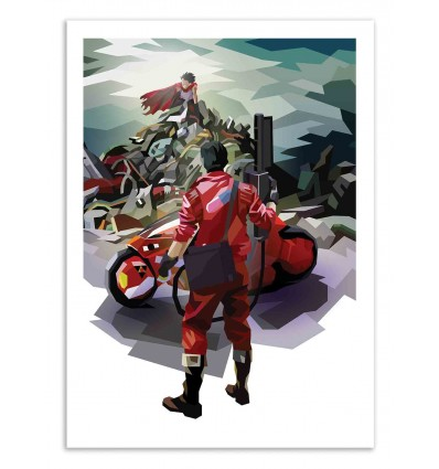Art-Poster 50 x 70 cm - Kaneda State - Liam Brazier
