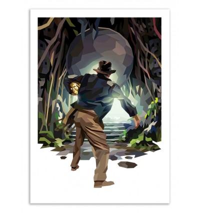 Art-Poster 50 x 70 cm - Raider - Liam Brazier