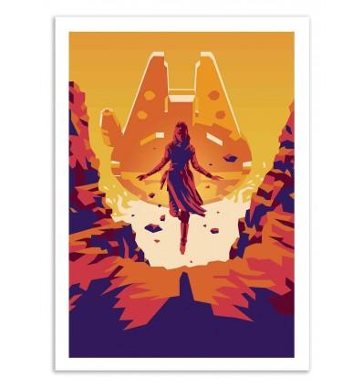 Art-Poster 50 x 70 cm - The last Jedi - Liam Brazier