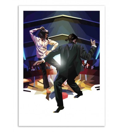 Art-Poster 50 x 70 cm - Vegas Dancers - Liam Brazier