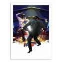 Art-Poster - Vegas Dancers - Liam Brazier