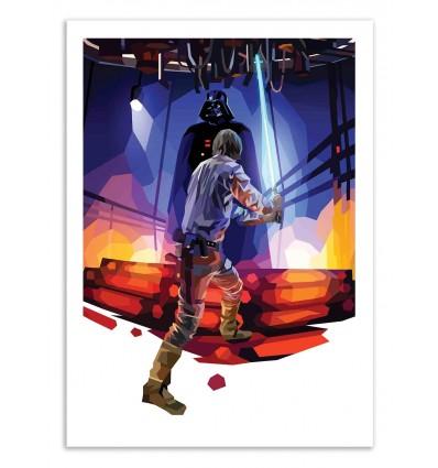 Art-Poster 50 x 70 cm - Father Figure - Liam Brazier