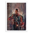 Art-Poster 50 x 70 cm - Deadshot Suicide Squad - Wisesnail