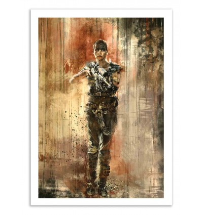 Art-Poster 50 x 70 cm - Furiosa - Wisesnail