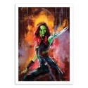 Art-Poster - Gamora - Wisesnail