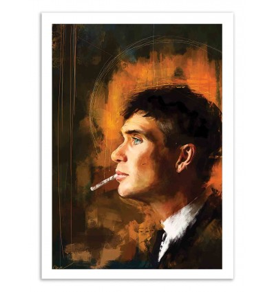 Art-Poster 50 x 70 cm - Tommy Shelby - Wisesnail